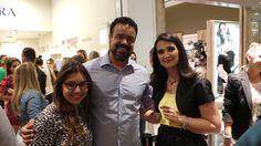 Com Joy Carvalho e Sandra Chan na inauguração da joalheria Pandora no JundiaíShopping. Sandra é a proprietária da franquia em Jundiaí.