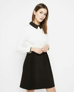 Ted Baker collar dress : sure value for an elegant look !
