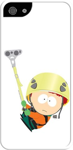 South Park - Kyle Dağa Tırmanıyor Kendin Tasarla - İphone 5/5S Kılıfları