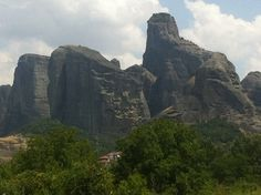 Meteora is an area in Central Greece and Kalampaka is the city under  the rock towers of Meteora. Meteora are so special because of the monasteries on the top of the rock towers. Many people come to Meteora to visit the monasteries, to climb or to hike the paths.