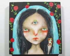 The gypsy tarot - Original painting by thesecrethermit