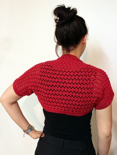 Lacy Summer Shrug in Lion Brand Cotton-Ease - L20122. Discover more Patterns by Lion Brand at LoveKnitting. The world's largest range of knitting supplies - we stock patterns, yarn, needles and books from all of your favorite brands.