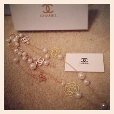 Vintage Camelia Chanel Necklace by MaqnifiqueGlamour on Etsy, $300.00
