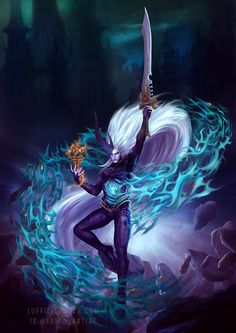 Yncarne, Avatar of Ynnead by luffie