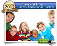 Top 100 Educational Websites by Homeschool.com