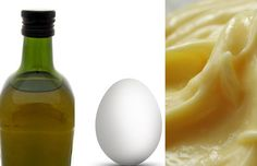 damaged-hair-home-remedies-egg-olive-mayo