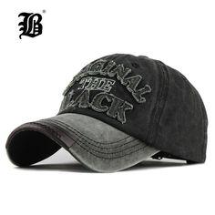 0f1d4ec5fad4f  FLB  caliente Retro lavado gorra de béisbol gorra Snapback sombrero para  hombres hueso mujeres