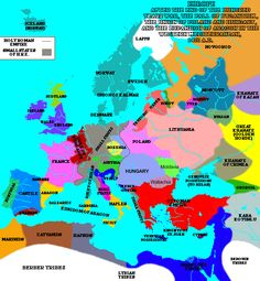 Europe in 1470 - History of Catalonia - Wikipedia Spain History, European History, World History, Bicycle Holiday, Map Of The Mediterranean, Romania Map, Holy Roman Empire, Medieval World, Map Globe