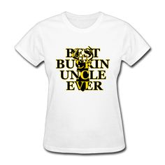 >> Click to Buy << Women Best Buckin' Uncle Ever Deer printing short sleeve T-shirt printed White #Affiliate