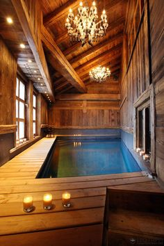 Home Theater with pool, Chatel Lhotse, Val D'isere, France