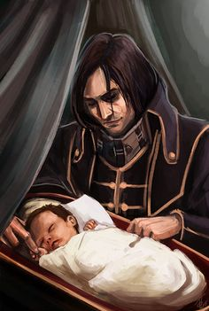 Corvo and Emily by augmented-mind