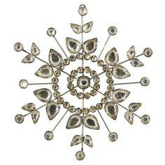 Decorations For Christmas Rhinestones Snowflake Xmas Ornaments Set Of 2 by ShalinIndia, http://www.amazon.com/dp/B009KZ3GN4/ref=cm_sw_r_pi_dp_N4JGqb1H2PFP3