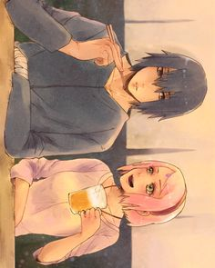 Sasuke y Sakura Naruto Uzumaki, Sasuke Susanoo, Naruto Y Sasuke, Naruto Team 7, Naruto Anime, Boruto, Manga Anime, Naruhina, Sakura Haruno