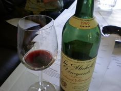 Think you'll be hard-pressed to try an older Washington wine than this1969 Chateau Ste. Michelle Cabernet.   #wawine