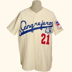 Santurce Cangrejeros 1954 Home -- What's cooler than the Puerto Rico club that boasted both Roberto Clemente and Willie Mays? Well, this beut of a jersey!
