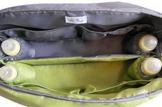 Diaper bags for twins Inside divided into two by TheYellowPacifier