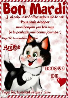 Bonne journée Bon Mardi, French Language Lessons, Tuesday, Nouvel An, Album, Facebook, Good Day Wishes, Word Of The Day, Love Pictures