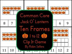 Halloween activity for Pre-K (pin now, check out later.  Looks promising)