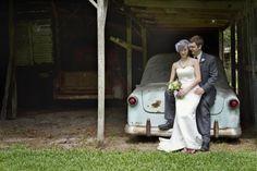 Backyard wedding from rusticweddingchic.com