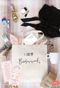 Inspiration - Bridesmaid Tote Bag