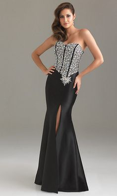 Long Night Moves Evening Gown