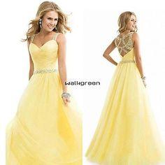 Women-Sexy-Long-Chiffon-Dresses-Evening-Party-Ball-Gown-Bridesmaid-Wedding-WN