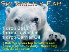 Natural Remedy for Swimmer's Ear!