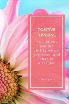 Positive thinking will let you use the ability which you have, and that is awesome. Think Positive Quotes, Life Quotes, Positivity, Let It Be, Awesome, Quotes About Life, Quote Life, Quotes On Life, Be Awesome