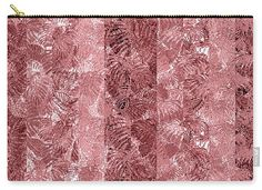 Impressionistic batik style tropical leaves in shades of PANTONE (R) Fall 2016 Dusty Cedar. Designed by Karen Dyson for Indian River Textiles. Fabric also available.