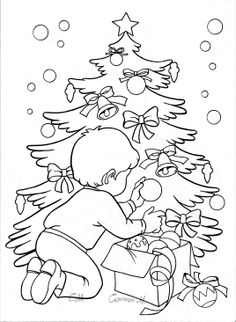 Pattern Coloring Pages, Coloring Book Pages, Coloring Sheets, Christmas Colors, Kids Christmas, Christmas Crafts, Christmas Templates, Christmas Printables, Christmas Tree Coloring Page