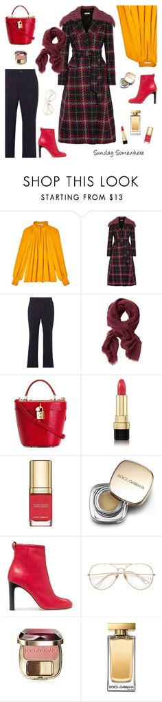 """Sunday Somewhere"" by sproetje ❤ liked on Polyvore featuring TIBI, Miu Miu, Banana Republic, Dolce&Gabbana, rag & bone, Fall, dolceandgabbana, WearIt and minibags"