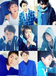 Ohno in blue Japan Art, Dont Understand, Things To Think About, Idol, Pretty, Blue, Japanese Art