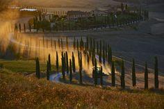 https://flic.kr/p/L4aGJJ | Working on friday evening. | Waiting for sunset in Baccoleno, a farmer was working in the wheat field on a John Deere tractor.  Baccoleno, Asciano, Siena, Tuscany, Italy.  --------------------------------------------------------- twitter.com/antoniocinotti www.instagram.com/antoncino/ www.tumblr.com/blog/antoncino plus.google.com/+AntonioCinotti it.linkedin.com/in/antoniocinotti  www.antonocinotti.it