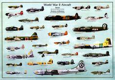 1939 1945 Avions de la seconde Guerre mondiale Photographie sur AllPosters.fr