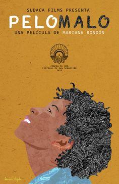 """Pelo Malo [Cheveux rebelles] - Mariana Rondón 2013 -- """"Junior a 9 ans. Il vit à Caracas avec sa mère & son frère de 2 ans. Junior a les cheveux frisés de son père. Il voudrait avoir les cheveux lisses de sa mère. Junior adore chanter, danser avec sa grand-mère & se coiffer devant la glace. Mais pour sa mère, Junior est l'homme de la famille. C'est comme ça qu'elle l'aime..."""""""
