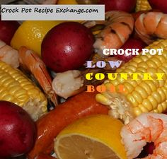 Crock Pot Recipe Exchange: Crock Pot Low Country Boil