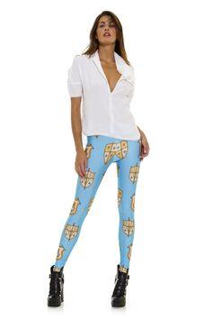 Leggings diseño exclusivo fabricado en España Modelo ESCUDOS www.legx.es