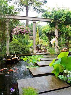 61 Dreamy Backyard Pond Designs | ComfyDwelling.com