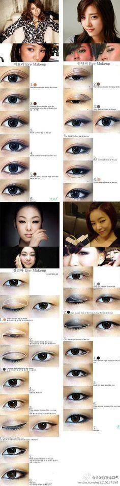 eye makeup tutorial #asian #monolid