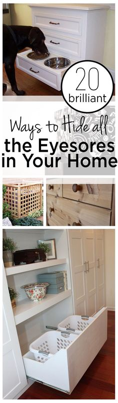 20 Brilliant Ways to Hide all the Eyesores in Your Home (1)