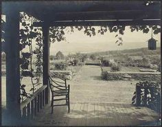 (Jessie Tarbox Beals, American, born Canada, 18701942, View from White Pines Front Porch, 1908,