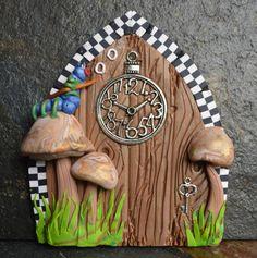 Alice In Wonderland Miniature Fairy Door Fairy by sewaddictd