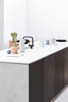 KV1 in black matt for kitchen REFORM Copenhage