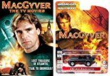 MacGyver DVD  1987 Jeep Wrangler YJ Action Pack car Bundle Set The TV Show 2 Movies Lost Treasure / Doomsday