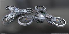 Tri-Rotor – Splinter Cell: Blacklist Tri-Rotor modeled and textured for Splinter Cell: Blacklist - Artwork by Tim Bergholz Game Developer – © Ubisoft