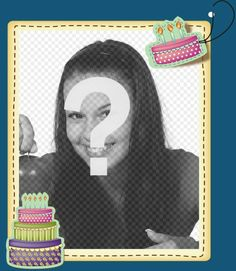 Fotomontaje para hacer una postal de felicitación gratuita - Fotoefectos Funny Happy Birthday Images, Birthday Frames, Movie Posters, Ideas, Frases, Happy Birthday Grandson, Happy Birthday Photos, Strong Women Pictures, Film Poster