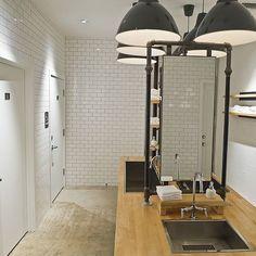 Restaurant & Hospitality Design Inspiration: The Pass & Provisions Washroom Design, Kitchen Room Design, Toilet Design, Brewery Design, Pub Design, Restaurant Design, Scandinavian Restaurant, Modern Scandinavian Interior, Cafe Interior Design