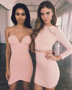 PRETTY IN PINK  BOTH DRESSES EXCLUSIVE TO #tigermistthelabel  in store and…