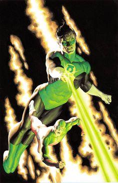 Green Lantern & the Atom