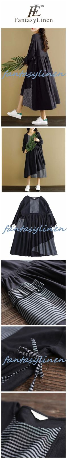 Black Joining Together Casual Dress Women Clothing Q2251